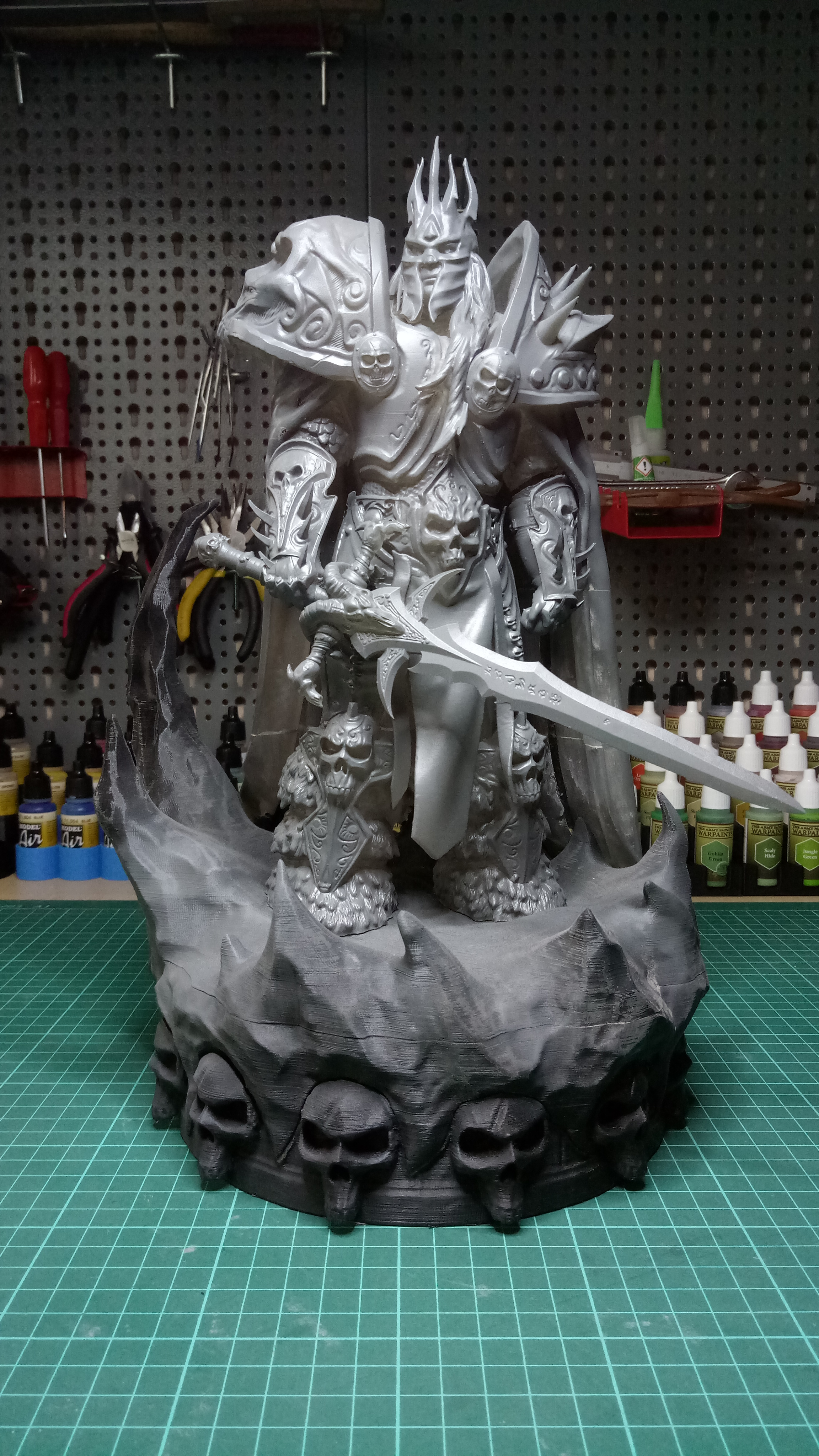 Arthas Lich King warcraft stl for 3d print