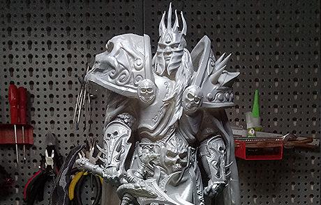 warcraft lich king stl for 3d print