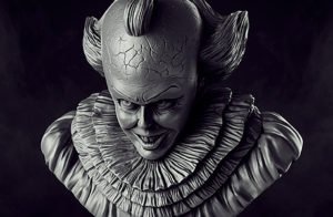 pennywise stl for 3d printing