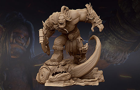 warcraft hellscream stl for 3d printing